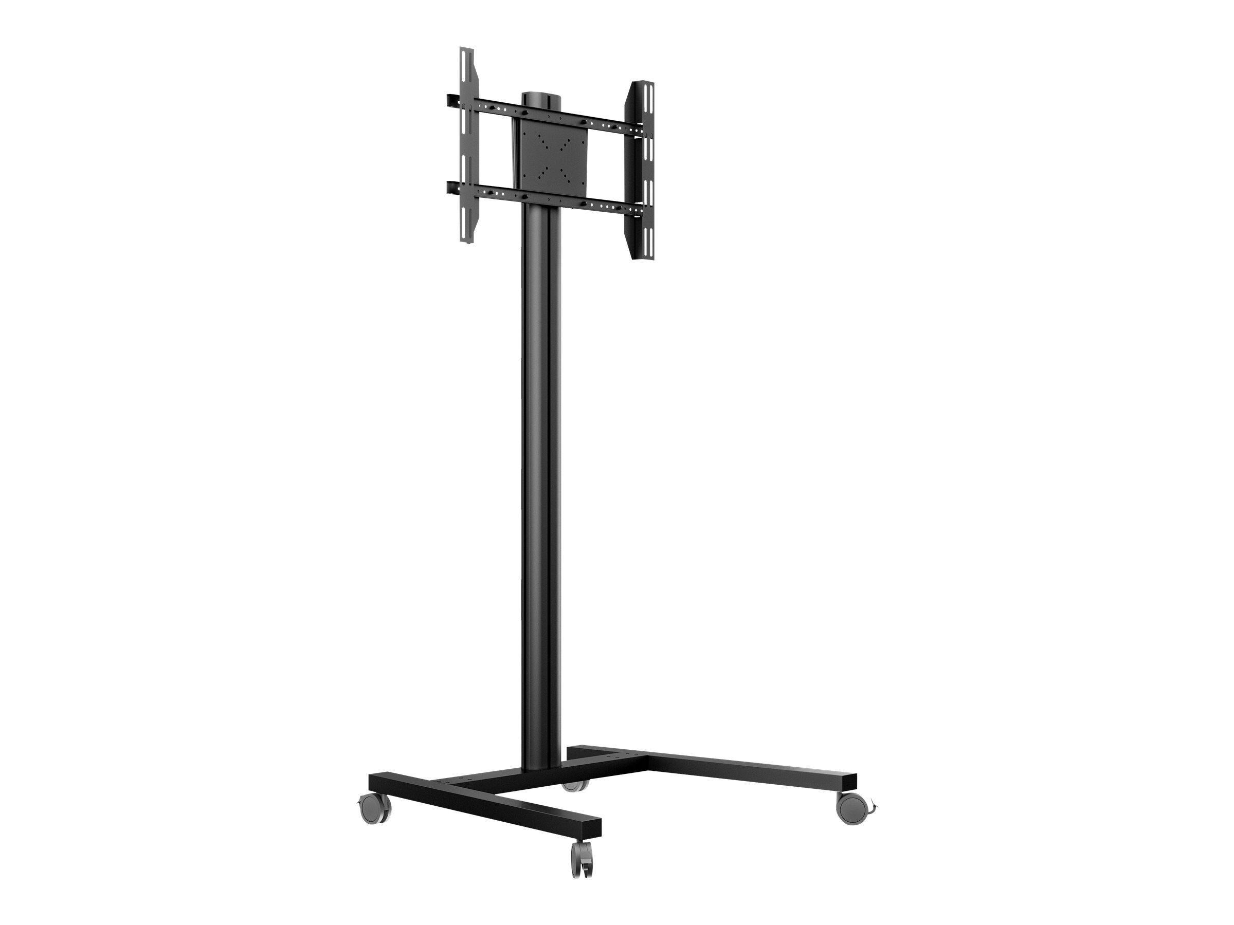 """MULTIBRACKETS M Display Stand 180 Single - Stativ for LCD/plasma-panel - aluminium, stål - svart - skjermstørrelse: 32""""-63"""" - monteringsgrensesnitt:"""