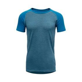 Devold Breeze T-shirt, junior Blue GO 180 214A 258B 14 2021