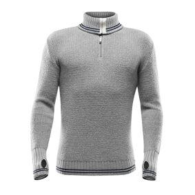 Devold Randers zip neck GREY MEL./NIGHT M 2018