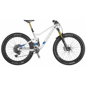 Scott Genius 900 Tuned AXS, fulldempet terrengsykkel 2021 White/Blue M 2021