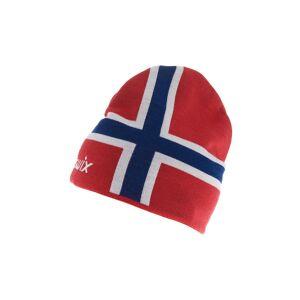Swix Norway Beanie, lue Red 46661-90000 M/L 2020