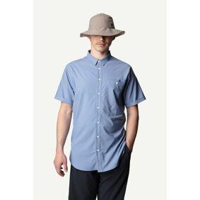 Houdini Shortsleeve Shirt, skjorte herre Up In The Blue 267594 S 2019
