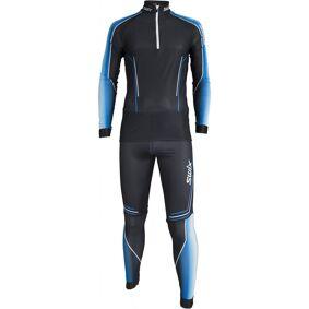Swix Triac 2-pcs skisuit, langrennsdress herre Black 32541-10000 M 2018
