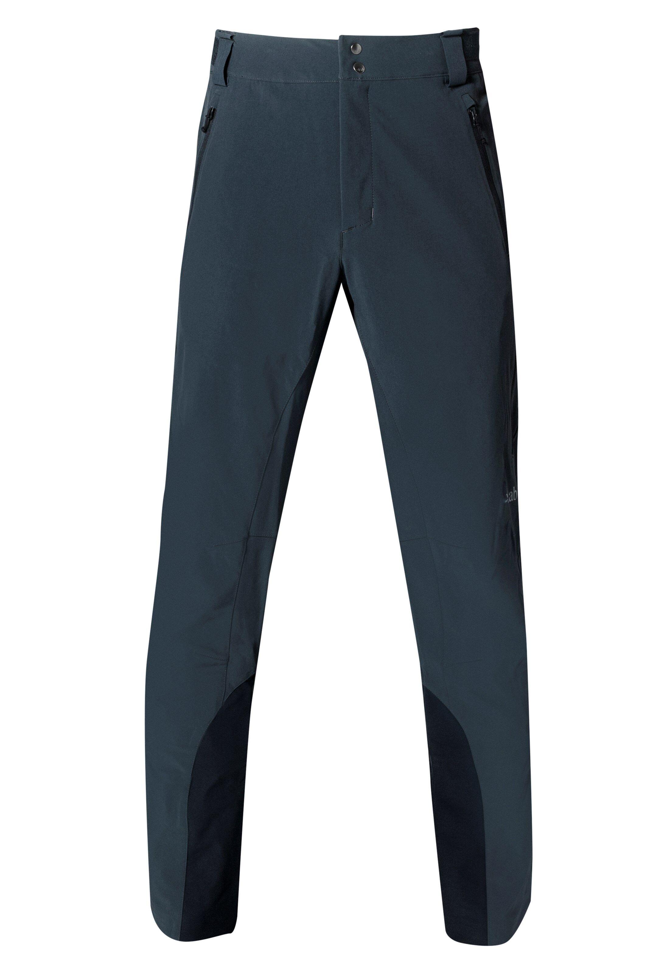 Rab Ascendor Pants, softshellbukse herre Ebony/Zinc QFU-16-EB XL 2018