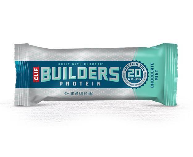 Clif Bar Builders Bar Chocolate Mint proteinbar CMT 2020