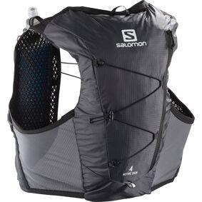 Salomon Active Skin 4 Set løpevest Ebony/Black LC1514300 XS 2021