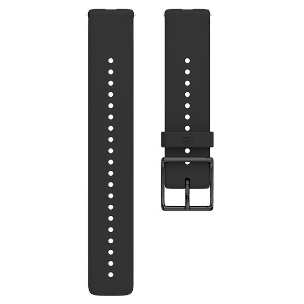 Polar Ignite Wristband Silikon Black/Black M/L (91075845) 2019