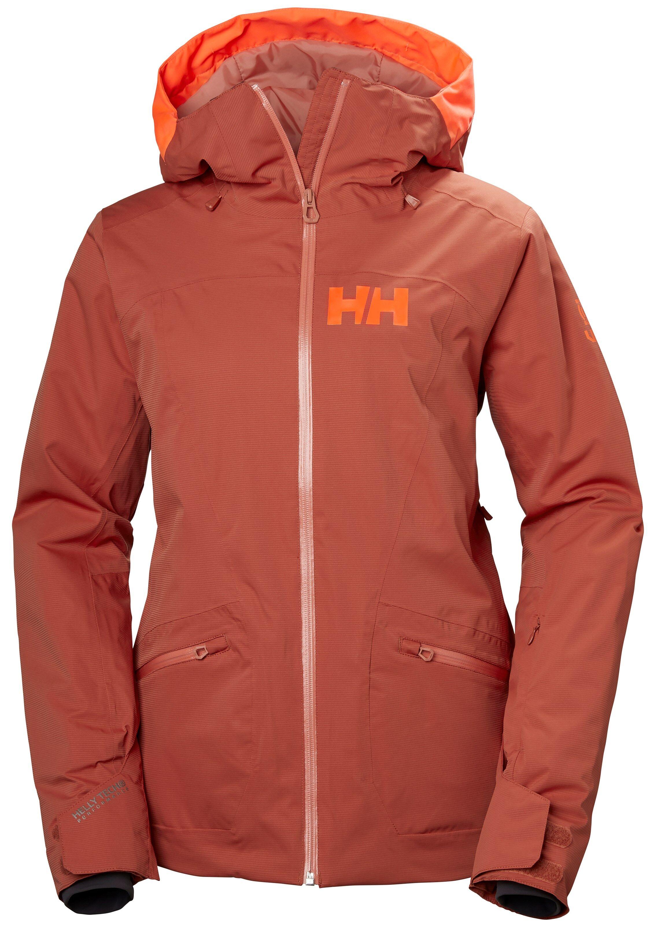 a9f8a257 Helly Hansen W Glory Jacket, skijakke dame Red Brick 65577-199 L 2018