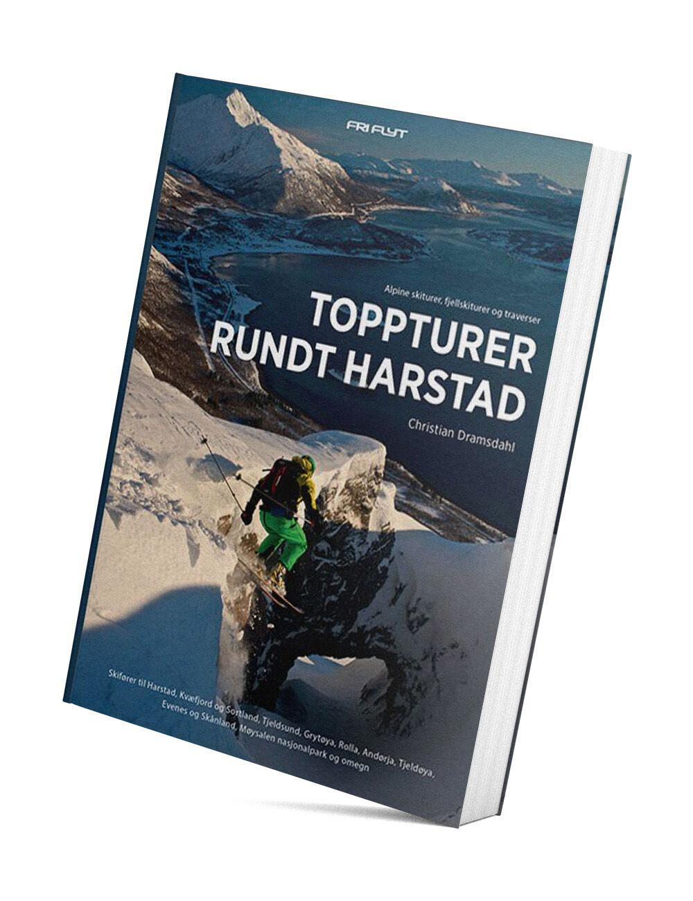 Fri Flyt Toppturer rundt Harstad guidebok  2020