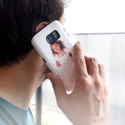 smartphoto Samsung Galaxy Deksel S5 - støtbeskyttende