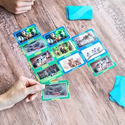 smartphoto «Fire på rad»-kort