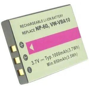 Pentax Ricoh Caplio 500G wide, 3.6V (3.7V), 1050 mAh