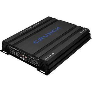 Crunch 4-kanals headstage 500 W knase GPX-1000.4