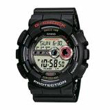 G-Shock Gd-100-1aer Mens Black Rubber Alarm Chronograph Watch