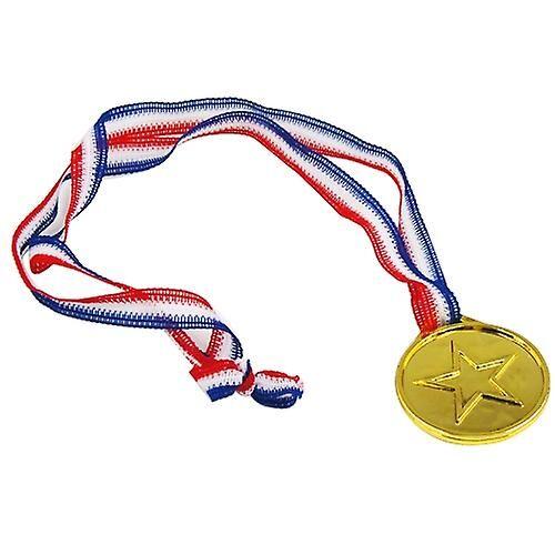 TRIXES 12 plast gull vinnerne medaljer - Sports dag/olympiske tema/...