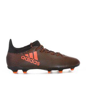 Adidas Boy's adidas Junior X 17.3 FG Fotball Støvler i Svart Svart rød UK 4