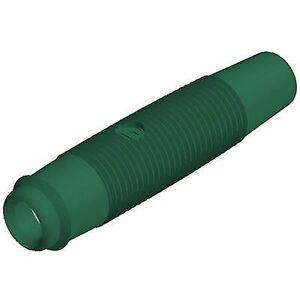 SKS Hirschmann KUN 30 Jack kontakten kontakten, rett Pin diameter: 4 mm grønn 1 eller flere PCer