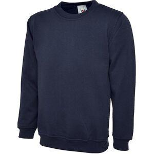 Uneek Mens/damer Uneek OL lakenpose Workwear Promo Sweatshirt Flaske grønt 3XL - Chest 50/52