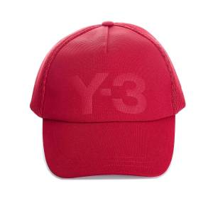 Y-3 Mens Y-3 Trucker cap i rødt Rosso One Size