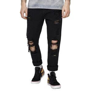 CAYLER & SONS CAYLER & SØNNER Menns Jeans ALLDD Heavy Cut Sid lys blå 34/32