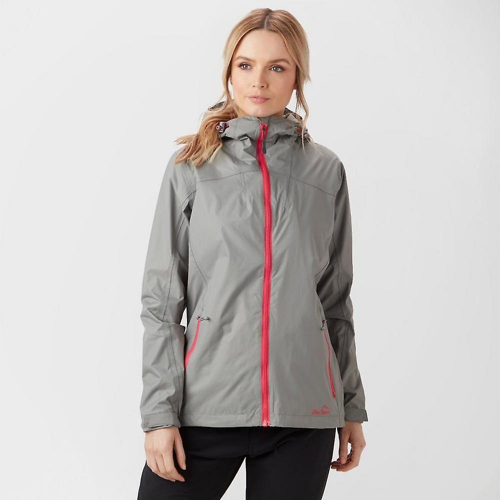 Peter Storm New Peter Storm Women's Full Zip Long Sleeve Techlite Jacket Grey 08