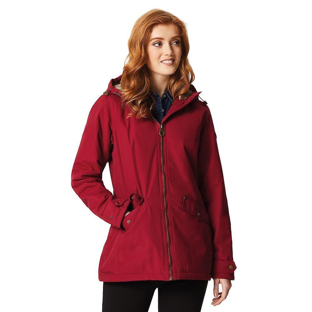 b1171caa Regatta kvinners/damer Bergonia vanntett Fur foret hette pels jakke.