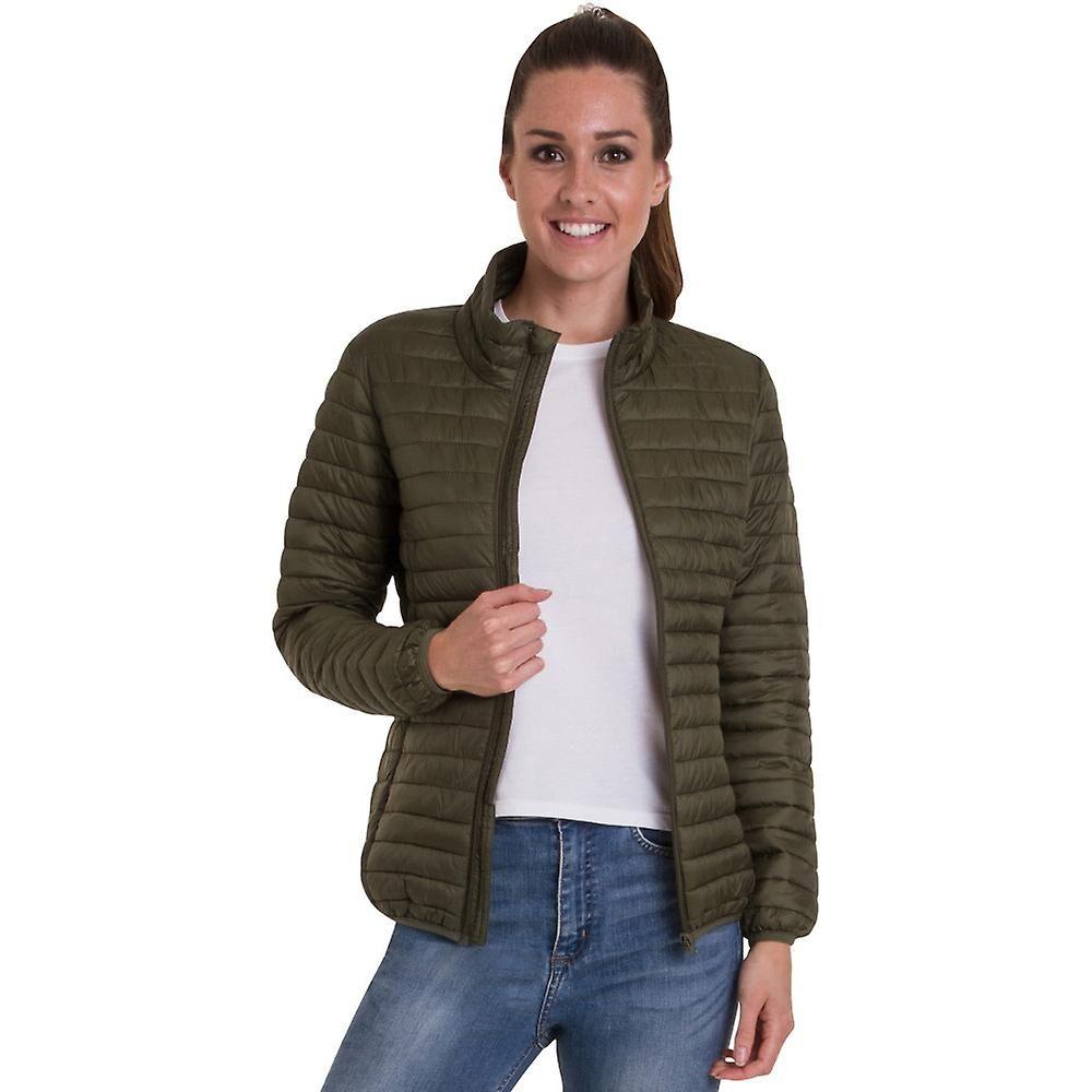 69062b17 Outdoor Look Utendørs utseende kvinner/damer Morar polstret vattert pels  jakke