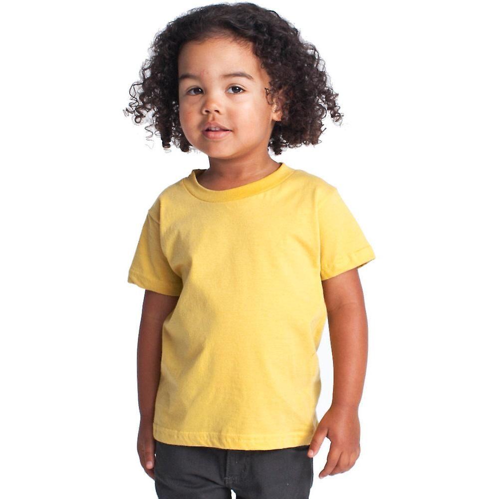 American Apparel Boys & Girls Fine Jersey Short Sleeve Kids T-Shirt...