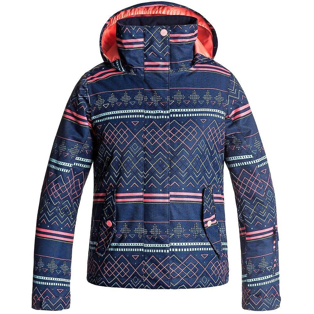 15700a2e Roxy Clothing Roxy klær jenter brygge vanntett isolert Taffeta Ski jakke  strøk