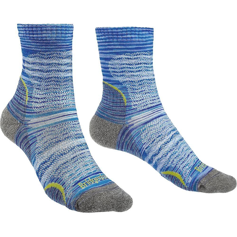 Bridgedale Womens tur Ultra lett Merino ull mønster sokker