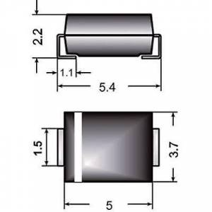 Semikron 03897661 US2S SMD Diode