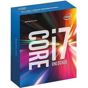 Intel Core i7 i7-6700K 4 x 4,0 GHz Quad Core eske prosessor PC Base: Intel® 1151 91 W