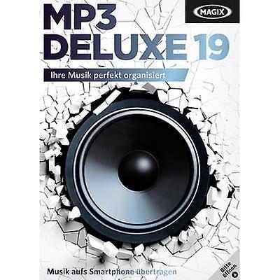 MAGIX MP3 Deluxe 19 Full versjon, 1 lisens Windows musikk