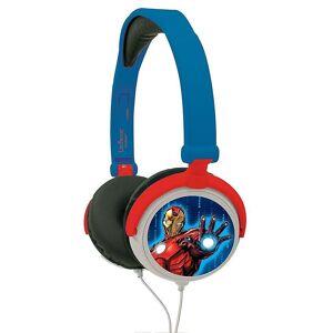 Lexibook Avengers montere Boys hodetelefoner Blue (Modell nr. HP010AV)