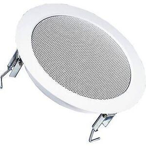 Visaton DL 18/2 PA innfelt høyttaler 70 W 100 V hvit 1 PC (er)