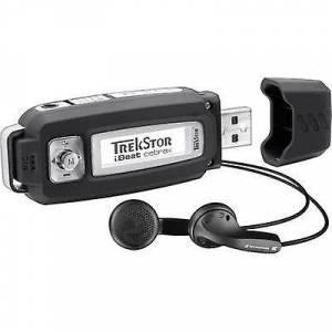 TrekStor® i.Beat cebrax MP3 spiller 4 GB svart stemmeopptaker