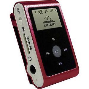 mpman MP30WOM MP3 spilleren 0 GB røde hefte