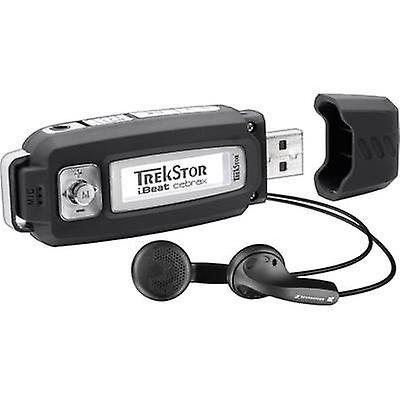 TrekStor® i.Beat cebrax MP3 spiller 4 GB svart stemmeoppt...