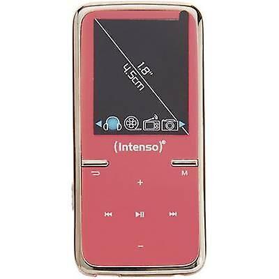 Intenso Video Scooter MP3 spilleren, MP4 Spilleren 8 GB rosa