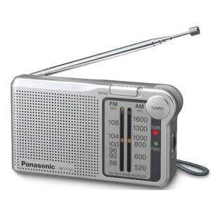 Panasonic Portable AM/FM-radio-sølv (Modell nr. RFP150DEG-S)