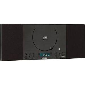 Denver MC-5010 Hørlig system AUX, CD, FM, svart