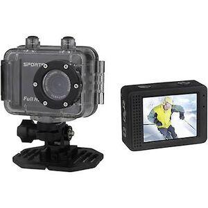 Denver ACT-5002 Action kameraet Full HD, Dustproof, vanntett