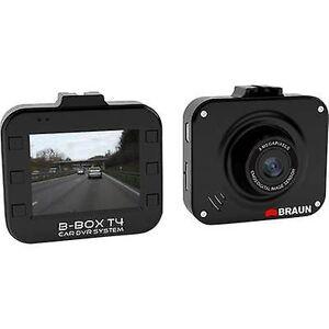 Braun Tyskland B-Box T4 Dashcam horisontal visningsvinkel (maks.) = 120 ° 12 V batteri, skjermen, mikrofonen