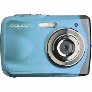 EasyPIX W1024-I Splash digital kamera 16 MP blå Underwater kamera