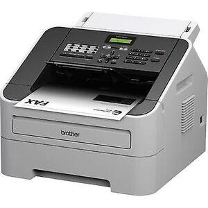 Brother FAX-2840 laser faksmaskin side minne 400 sider