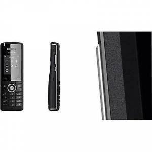 SNOM M65 DECT telefon svart