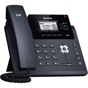 Yealink SIP-T40P Corded VoIP Headset tilkobling, håndfri farge TFT / LCD svart