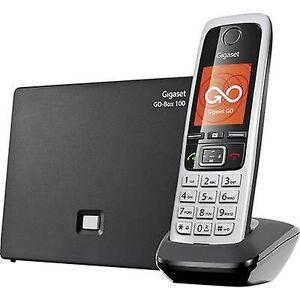 Siemens Gigaset C430A GO trådløs VoIP-telefontelefon, håndfri, hodesetttilkobling Farge TFT/LCD-svart, Sølv