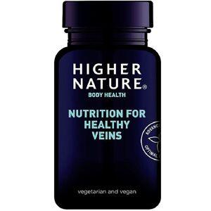 Higher Nature Høyere natur ernæring for sunne årer vegetabilske kapsler 90 (VSF090)