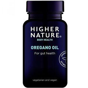 Higher Nature Høyere natur Oregano olje vegetabilske kapsler 30 (OOC030)